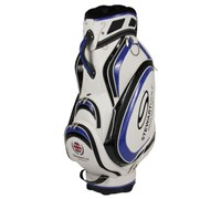 Stewart Golf T3-H Tour Cart Hybrid Bag (White/Blue)