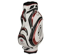 Stewart Golf T3-H Tour Cart Hybrid Bag (White/Red)