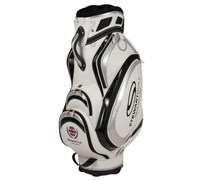 Stewart Golf T3-H Tour Cart Hybrid Bag (White/Silver)
