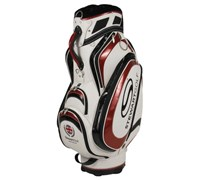 Stewart Golf T3-H Tour Cart Hybrid Bag - Shop Soiled (White/Red)