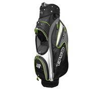 Masters T 750 Trolley Cart Bag (Black/White/Green)