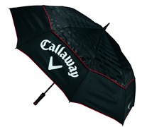 Callaway Tour Authentic 68 Inch Double Canopy Auto Open Umbrella (Black)