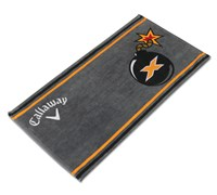 Callaway Golf Tour Authentic Bomb Towel (Grey)