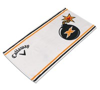 Callaway Golf Tour Authentic Bomb Towel (White)