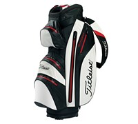 Titleist StaDry Cart Bag 2014 (Black/Red/White)
