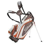 Titleist Lightweight Stand Bag 2014 (White/Grey/Orange)