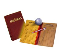 Tee Time All Weather Score Card Wallet