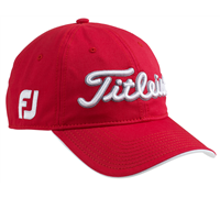 Titleist Tour Adjustable Cap (Red/White)
