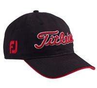 Titleist Tour Adjustable Cap (Black/Red)