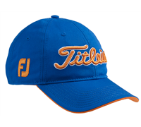 Titleist Tour Adjustable Cap (Blue/Orange)