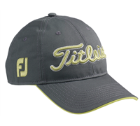 Titleist Tour Adjustable Cap (Dark Grey/Green)