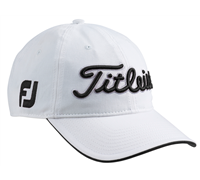 Titleist Tour Adjustable Cap (White/Black)
