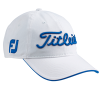 Titleist Tour Adjustable Cap (White/Blue)