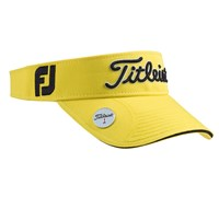 Titleist Ball Marker Adjustable Visor 2013 (Yellow/Black)
