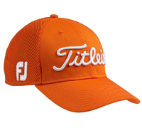 Titleist Tour Sports Mesh Fitted Cap (Orange)
