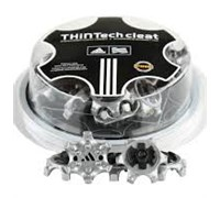 Adidas ThinTech Cleats With Wrench (Metallic Silver)