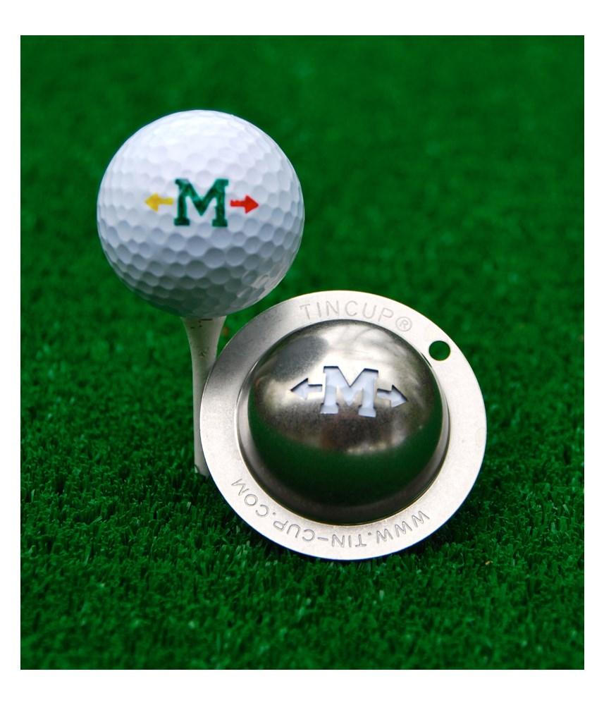 Tin Cup Ball Marker Alpha Players Golfonline