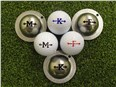 Tin Cup Ball Marker - Alpha Players