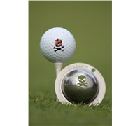 Tin Cup Ball Marker - Jolly Roger