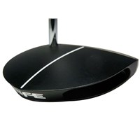Rife Vault Series Titan Z Black Anodized Putter