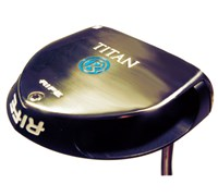Rife Vault Series Titan Silver Anodized Putter