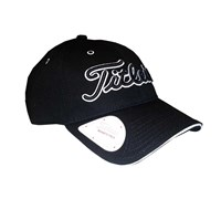 Titleist Ball Marker Adjustable Cap (Black/Black)