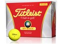 Titleist DT Solo Yellow Golf Balls   12 Pack