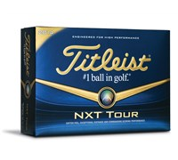 Titleist NXT Tour White Golf Balls 2014  12 Balls