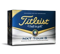 Titleist NXT Tour S White Golf Balls 2014  12 Balls