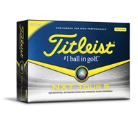 Titleist NXT Tour S Yellow Golf Balls 2014  12 Balls