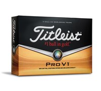 Titleist Pro V1 High Number Golf Balls 2014  12 Balls