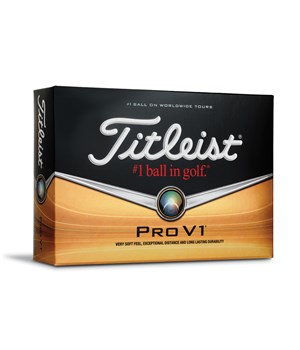 Titleist Pro V1 Golf Balls (12 Balls) 2014 - Personalised Buy 3 get 1 Free