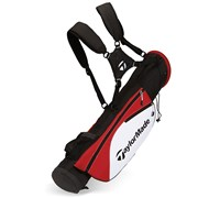 TaylorMade Quiver Pencil Bag (Black/White/Red)