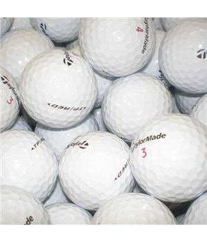 TaylorMade TP Red/Black Lake Balls (100 Balls)