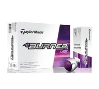 TaylorMade Ladies Burner Golf Balls 2014  12 Balls