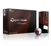 TaylorMade Tour Preferred Golf Balls 2014 - Personalised Buy 3 Get 1 Free  12 Balls