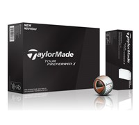 TaylorMade Tour Preferred X Golf Balls 2014 - Personalised Buy 3 Get 1 Free  12 Balls