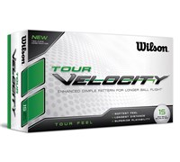 Wilson Tour Velocity Feel Golf Balls  15 Balls