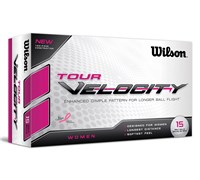 Wilson Ladies Tour Velocity Golf Balls  15 Balls