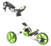 Clicgear 3.5+ 3-Wheel Trolley Cart 2013 (Arctic White/Lime)