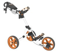 Clicgear 3.5+ 3-Wheel Trolley Cart (Arctic White/Orange)