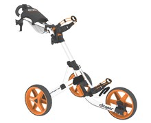 Clicgear 3.5+ 3-Wheel Trolley Cart 2013 (Arctic White/Orange)