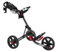 Clicgear 3.5+ 3-Wheel Trolley Cart (Black)
