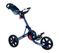 Clicgear 3.5+ 3-Wheel Trolley Cart (Blue)