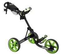 Clicgear 3.5+ 3-Wheel Trolley Cart (Charcoal/Lime)
