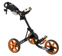 Clicgear 3.5+ 3-Wheel Trolley Cart (Charcoal/Orange)