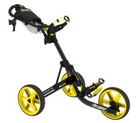 Clicgear 3.5+ 3-Wheel Trolley Cart 2013 (Charcoal/Yellow)