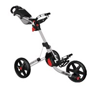 Clicgear 3.5+ 3-Wheel Trolley Cart (Silver)