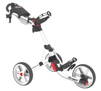 Clicgear 3.5+ 3-Wheel Trolley Cart (White)