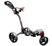 Eze Glide Compact Tri-Spin 360 Degree Trolley (Silver/Grey)